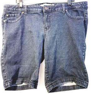 20 Torrid Bermuda Denim Jean Shorts